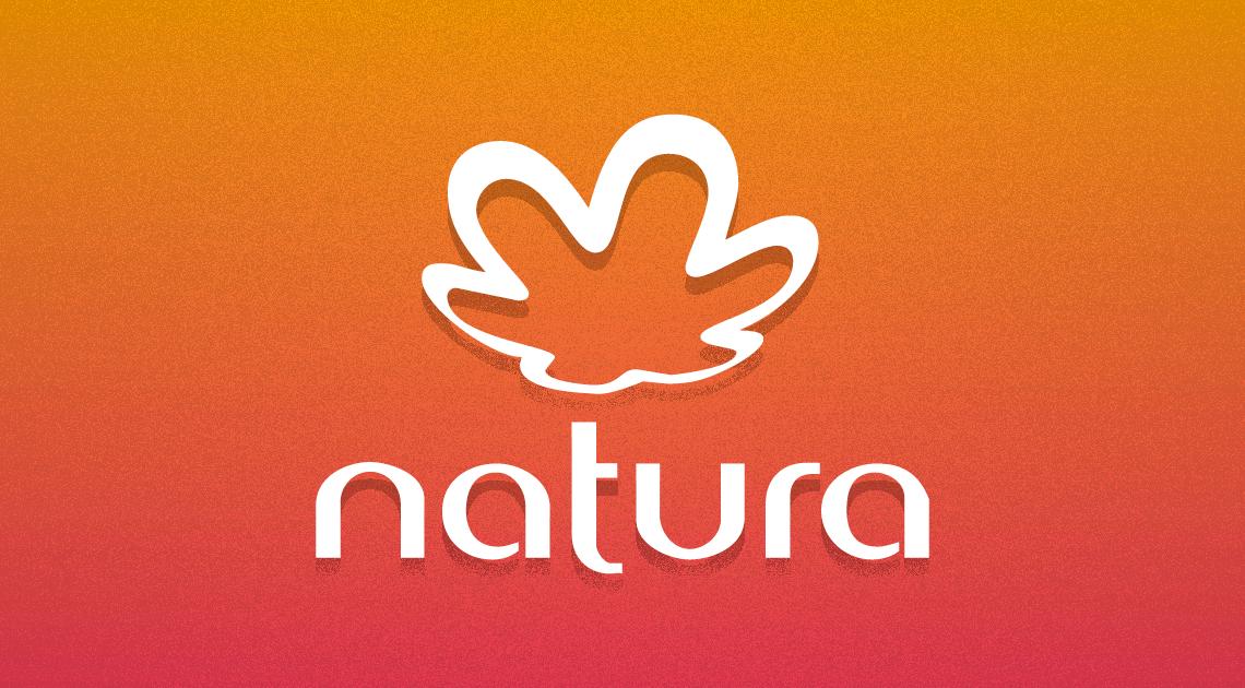 Imagem da marca e logo da natura